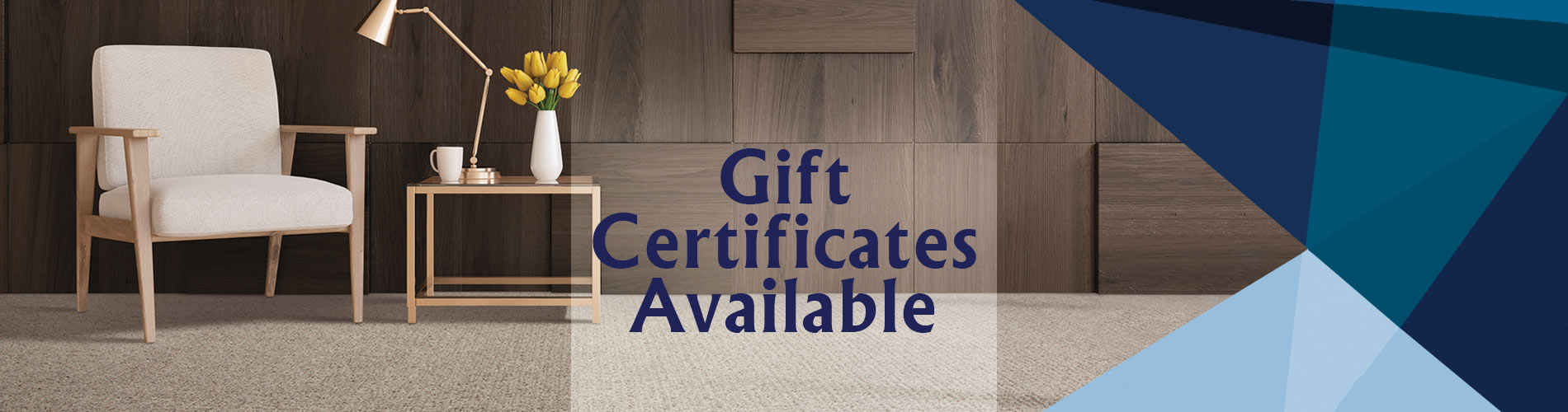 We have gift certificates available for purchase