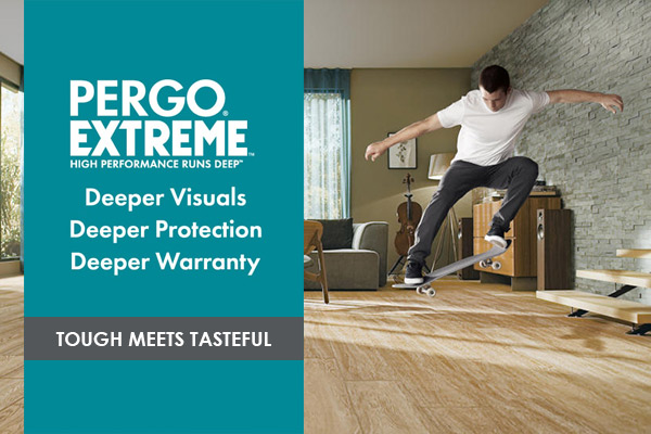 Pergo Extreme Luxury Vinyl - Tough Meets Tasteful