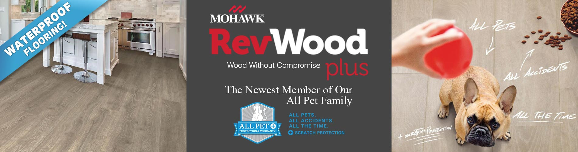 Mohawk RevWood Plus - Wood Without Compromise - All Pet Plus Protection - On Sale Now