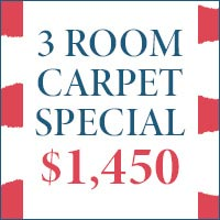 Get carpet installed in three rooms for $1450. Are Nu Floors to Go in Tuscaloosa